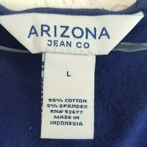 df69fdc98cc Arizona Jean Company Dresses - Arizona Jean Co Solid Blue A-line Summer  Dress
